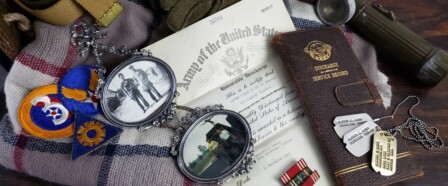 Personal Artifacts from WW2