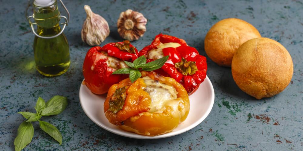 Stuffed Vegetarian Peppers